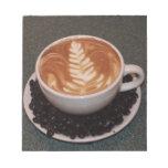 Latte Art Memo Pad