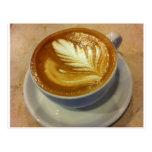 Latte Art Postcards