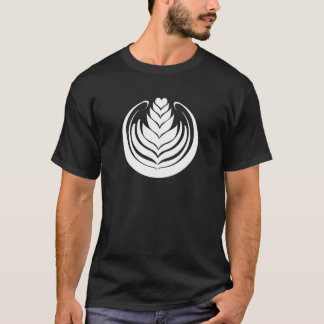 Latte Art Tulip T-Shirt