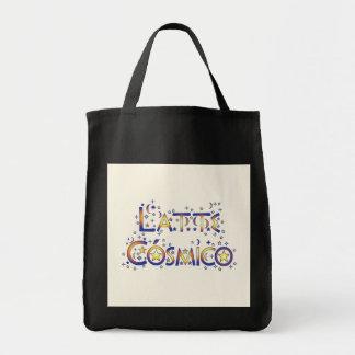 Latte Cósmico Grocery Tote Bag