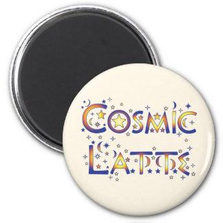 Latte cósmico iman de nevera