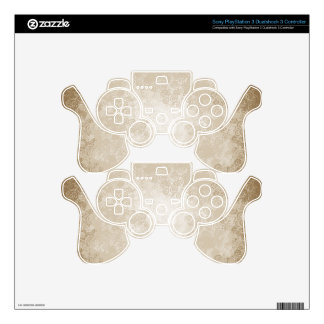 Latte Cream Decal For PS3 Controller