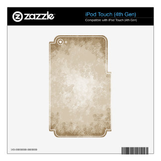 Latte Cream Skins For iPod Touch 4G