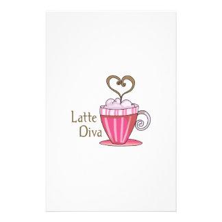 Latte Diva Stationery