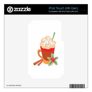 Latte Drink iPod Touch 4G Decal