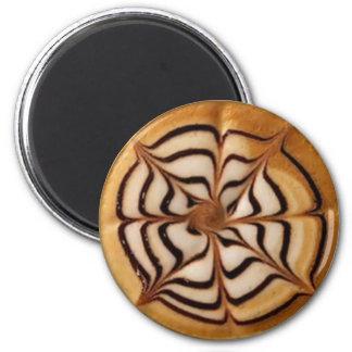 Latte Foam Art 1 Magnet
