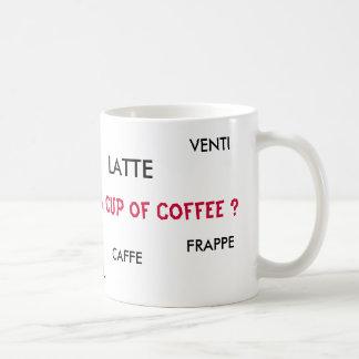 LATTE, FRAPPE, CAPPUCCINO, ALTO, V… - Modificado p Tazas De Café