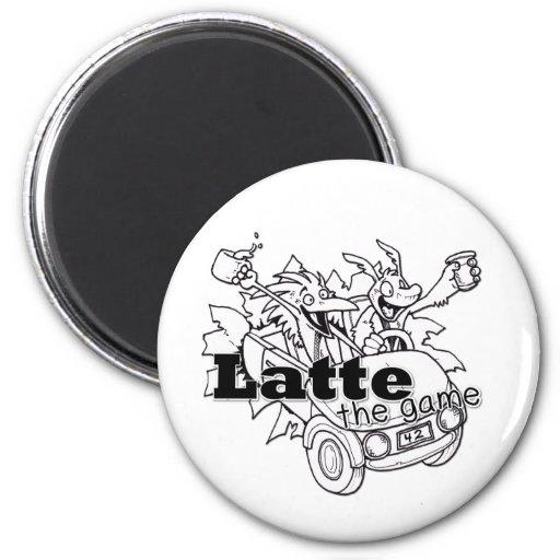 Latte Imán De Nevera