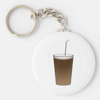Latte Keychain