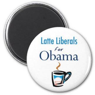 Latte Liberals for Obama Magnet