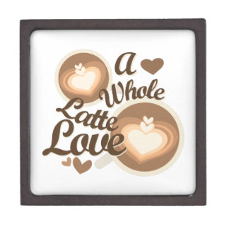 Latte Love Jewelry Box
