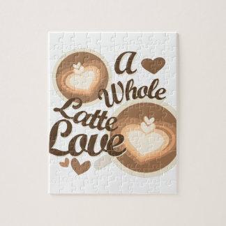 Latte Love Jigsaw Puzzle