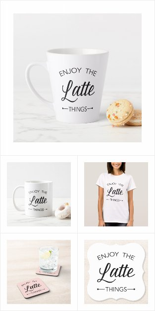 Latte Lover Gifts