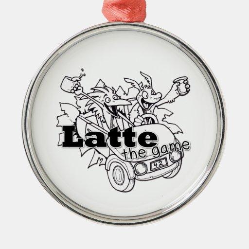 Latte Ornament