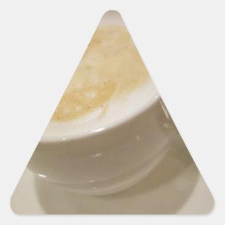 Latte Pegatina Triangular