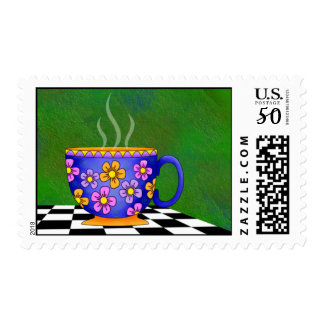 Latte Postage Stamp