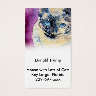 Latte Siamese Business Card