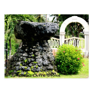 Latte Stone - Guam Postcard