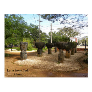 Latte Stone Park Postcard