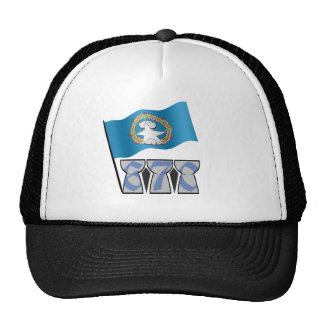 Latte Stones Mesh Hats