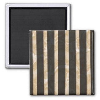 Latte Stripes Magnet