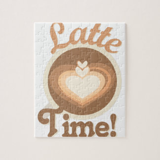 Latte Time Jigsaw Puzzle