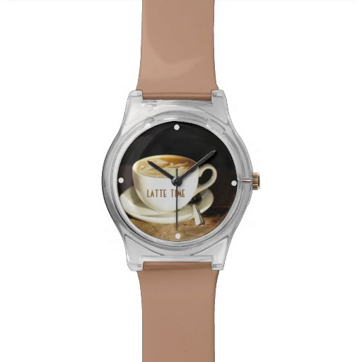 Latte Time Watch