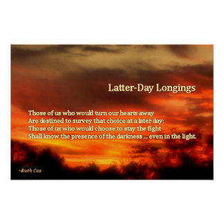 Latter-Day Longings Poster