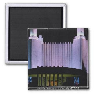 Latter-Day Saints temple in Washington, D.C., U.S. Fridge Magnet
