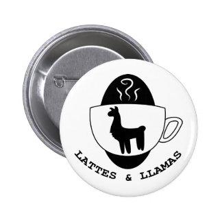Lattes and Llamas Logo Button