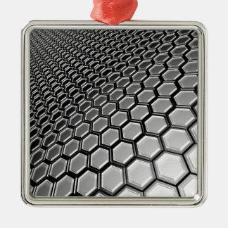 lattice 2016 metal ornament