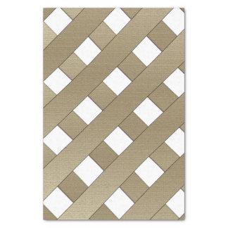 """Lattice Fence 10"""" X 15"""" Tissue Paper"""