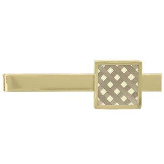 Lattice Fence Gold Finish Tie Bar