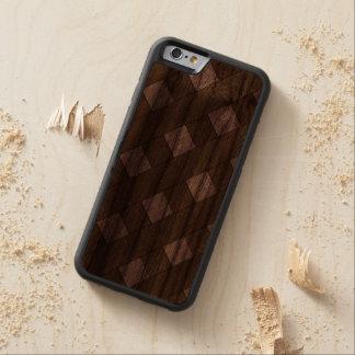 Lattice Fence Carved® Walnut iPhone 6 Bumper