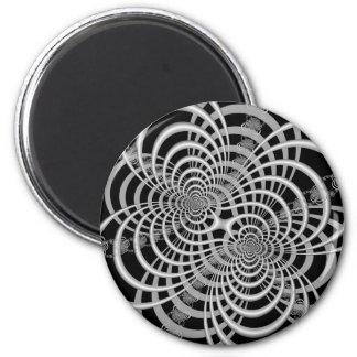 Lattice in Black and White Magnet