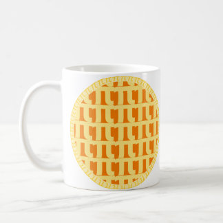 Lattice Pumpkin Pie - Pi Day Coffee Mug
