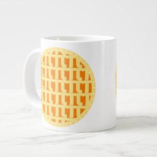Lattice Pumpkin Pie - Pi Day Giant Coffee Mug