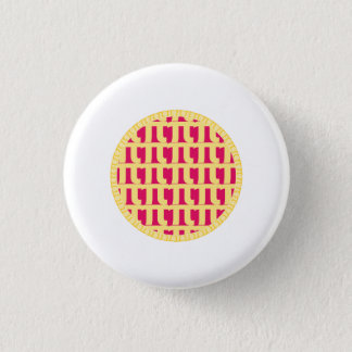 Lattice Raspberry Pie - Pi Day Button
