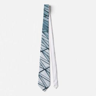 Lattice shell neck tie