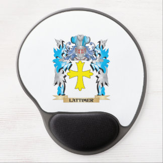 Lattimer Coat of Arms - Family Crest Gel Mouse Pad