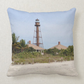 L'attitude Adjustment:  Sanibel Throw Pillow