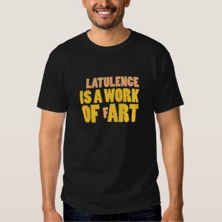 Latulence es un trabajo Fart Playera