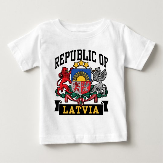 Latvia Baby T-Shirt
