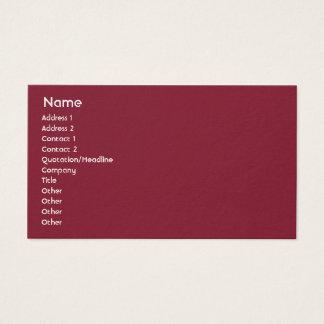 Latvia - Business Business Card
