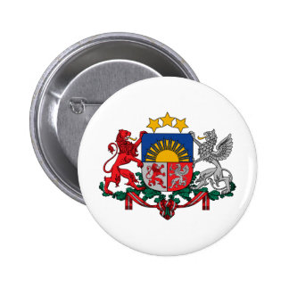 Latvia coat of arms button