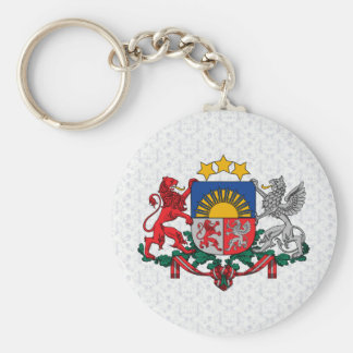 Latvia Coat of Arms detail Keychains