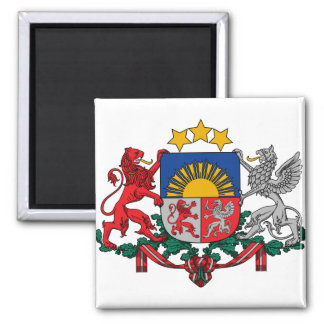 Latvia Coat of Arms detail Magnet