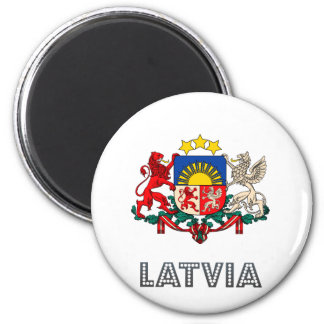 Latvia Coat of Arms Magnet