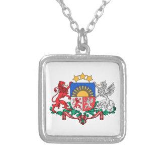 Latvia Coat of Arms Custom Necklace