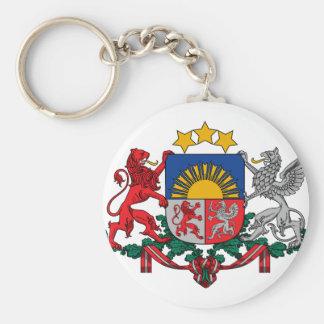 latvia emblem key chains